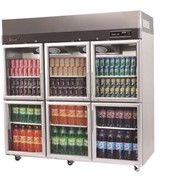 Turbo Air Top Mount Split Glass Door Fridge – KR65-6G