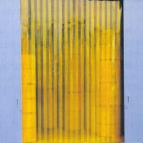 Visiflex PVC Strip Door Curtains Anti Insect Yellow PVC