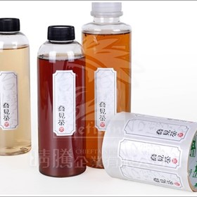 Custom Beverage Bottle Label Printing and Manufacture