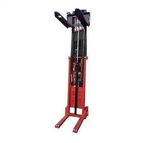 Semi Electric Pallet Stacker Narrow Lifter 3500M 1.5T | GE35N
