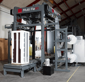 Stretch Hood Pallet Wrapper | Lachenmeier MultiFleX1