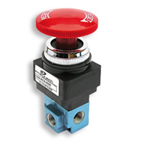 Pushbutton Valves | Pneutech Australia