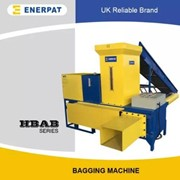 Economic Bagging Baler Machine Factory for Animal Bedding | HBA-B120