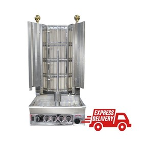 Veysel's Gas 4 Burner Kebab Machine – KMB4E