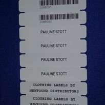 Newfound Heat Seal Clothing Labels