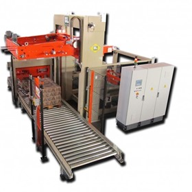 LF Series Palletiser Line with Bottom Bag Loading