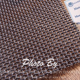 Bullet proof wire mesh security mesh