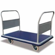 Heavy Duty 300kg Platform Trolley with Removable Handles