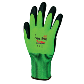 High Vis Micro Foam Gloves with Nitrile Palm - Soroca