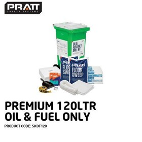 Spilltek Oil & Fuel Only Spill Kits 120L