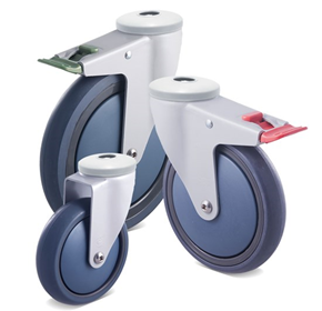 Fallshaw M Powder-Coat Castors