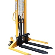 Manual Stacker Straddle Leg Max-Lift Height 1600mm Capacity 1000kg