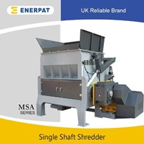 High Efficiency Copper Cable Single Shaft Shredder Machine