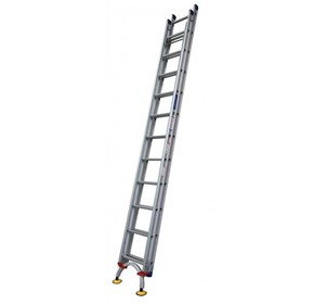 Aluminium Extension Ladder with Arc Leveler | INDALEX Pro Series