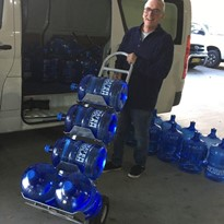 BOTTLED WATER TRAY TRUCKS