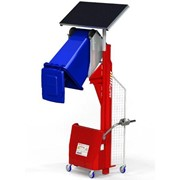 Multi-Tip Solar Powered Bin Tipper