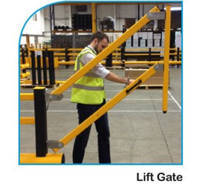 Warehouse Safety | A-SAFE | Lift Gate