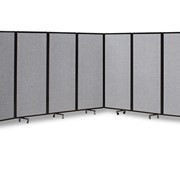 360 Folding Acoustic Portable Room Divider in Fabric