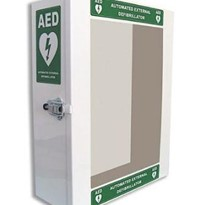 AED Cabinet with Alarm and Light