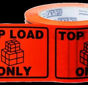 Top Load Only Labels