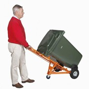 Binsafe Manual Trolley with 1 Bin Hook