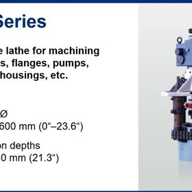 Portable CNC Lathes for Valve Repairs