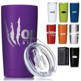 S922 & S924 Wolverine Vacuum-Double Walled Stainless Steel Tumblers