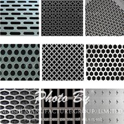 Perforation types for perforated metal sheet