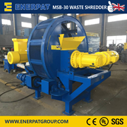 Scrap Tyre Shredding Machine | Tire Double Shaft Shredder