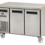 Sanden SPC-1507A 2 Solid Door Under Bench Chiller