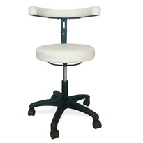 Operators Chairs- Gas Lift Stool with Contoured Back Rest