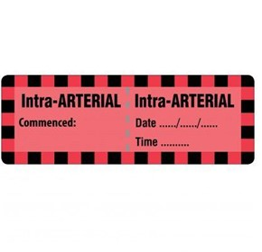 Injectable Medicine Labels  Intra-ARTERIAL