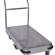Galvanised Single Deck Platform Trolley - HTS500S