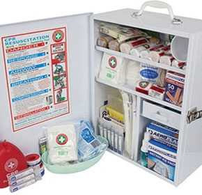 Low and High Risk First Aid Kits