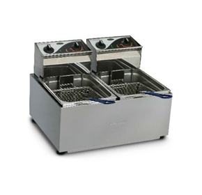 Double Pan Fryer | Roband F28