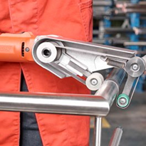 Portable tool range makes metal maintenance easy