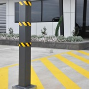 Square Stainless Steel Bollards