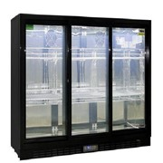 Commercial Under Bench 3 Sliding Doors Alfresco Glass Door Fridge