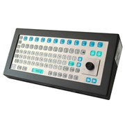 Intrinsically Safe Keyboard with Integral Mouse- KBIM2-IS