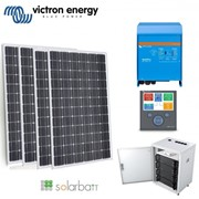 Victron | Powered Off Grid Solar Kit – Kratos BYD Lithium Battery