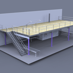 Warehouse Mezzanines | Integrated Machinery Mezzanine