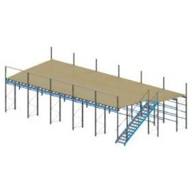 APC Racking Supported Mezzanine Flooring