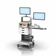Foetal Monitoring Cart - GCX Workstation