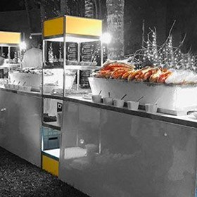 Rack Cube | Buffet & Live Cooking Modular System