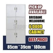 6 Door Office Filing Cabinet