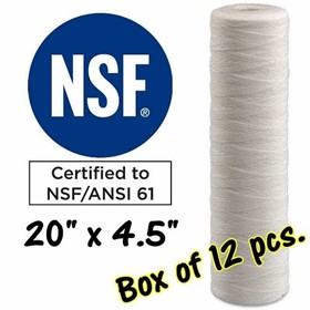 Water Filter Cartridges | S20A-10J-Box