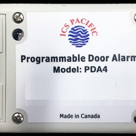 Programmable Door Alarm | PDA4