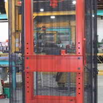 Wire Mesh Safety Barrier Guard Curtain | GuardianCoil