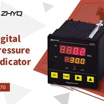 DIGITAL PRESSURE TEMPERATURE INDICATOR