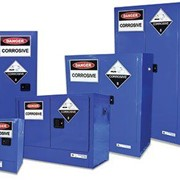Indoor Safety Cabinets - Corrosive Substances